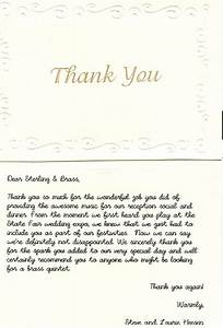sterling brass the lake country brass quintet With christmas gratitude letter
