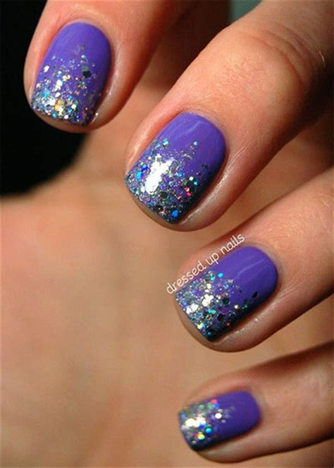 gel manicure designs 15 glitter gel nail designs ideas trends