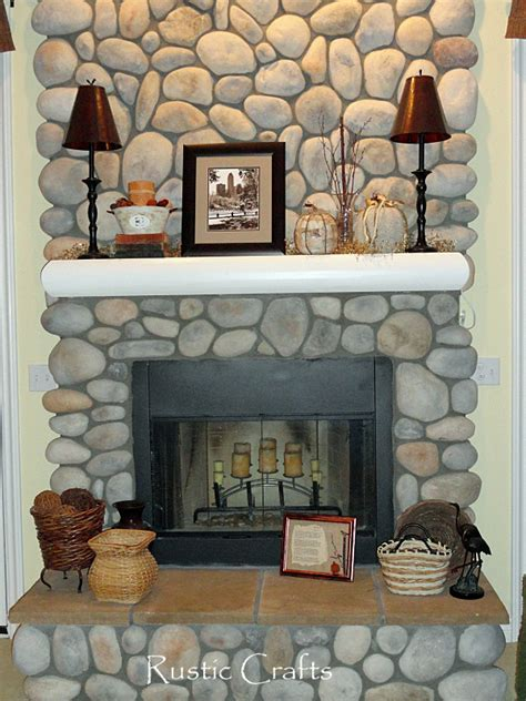 decorating a fireplace mantel fall decor ideas rustic