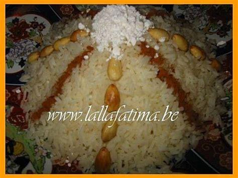 cuisine marocaine seffa recettes de seffa et riz