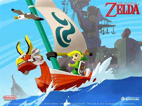 Zelda The Wind Waker Official Wallpapers Desktops