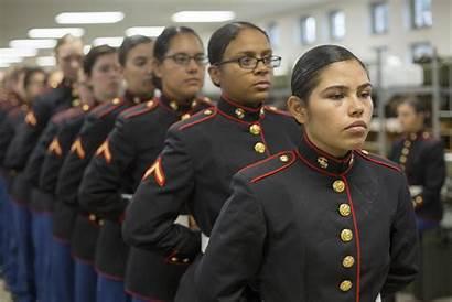 Marines Female Marine Uniform Blues Corps Change
