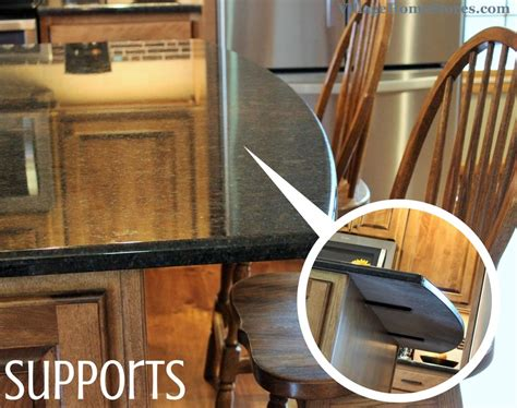 how much overhang for kitchen island kitchen island