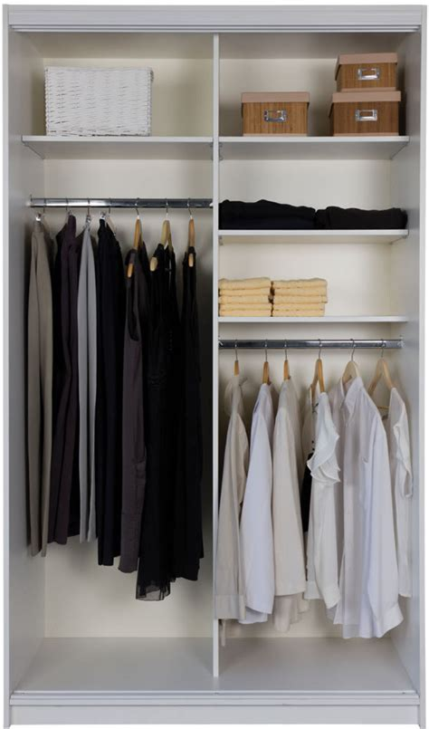 Standing Wardrobe by Spacemaster Free Standing Wardrobe Ready To Assemble