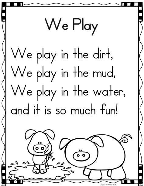 poetry shared reading in kindergarten mrs mcginnis 501 | Slide26