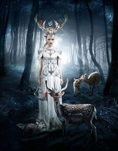 Pin by Spring Morse on Goddess Love   Celtic goddess ...