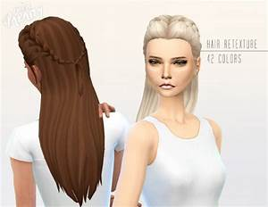 Sims 4 Hairs Miss Paraply Kiara 24 Absolution Hairstyle