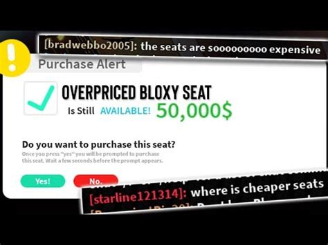 roblox sell bloxy awards seats   robux