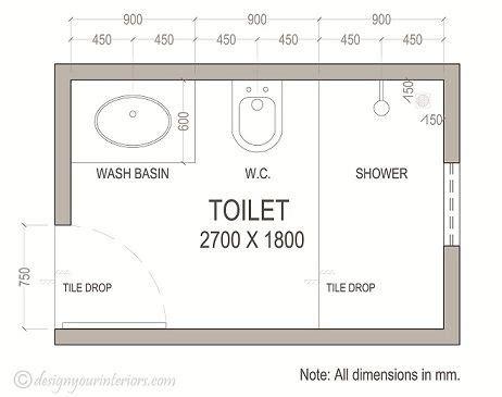 Small Bathroom Blueprint by Bathroom Blueprints Plans Layout Bathroom Plans