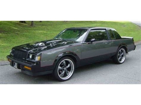 Buick Grand National 1987 by 1987 Buick Grand National For Sale Classiccars Cc