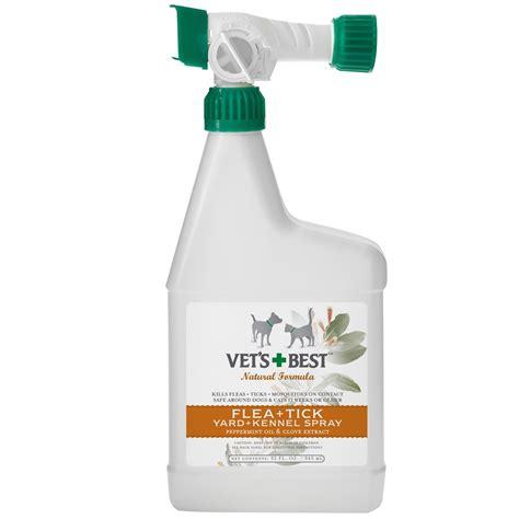tick spray for yard vet s best natural flea tick yard kennel spray 32 oz