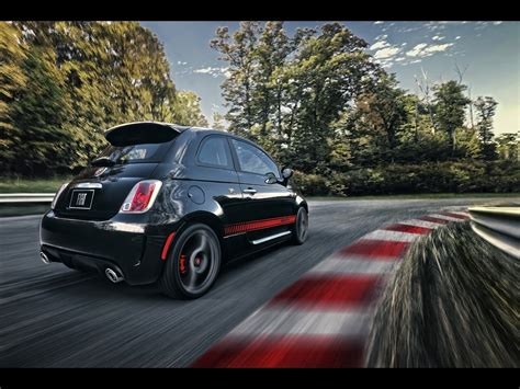 Fiat 500 4k Wallpapers by Fiat 500 Abarth Rear And Side Tilt Wallpapers Fiat 500