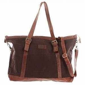 Leder Reisetasche Damen : leconi le2013 weekender shopper aus canvas in mokka ~ Watch28wear.com Haus und Dekorationen