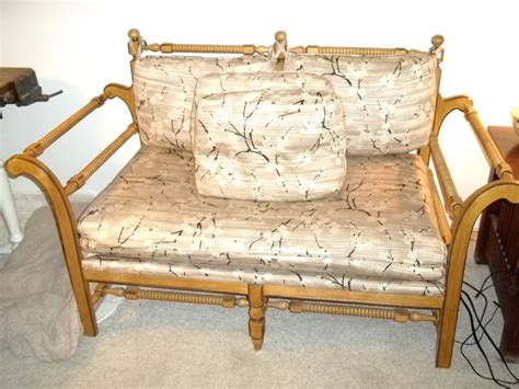 Settee Cushions Sale by Vintage Settee Loveseat For Sale Westport Ct Patch