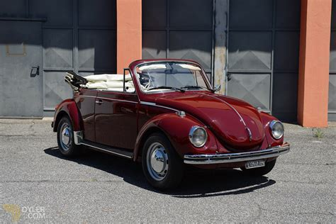 Volkswagen Cars For Sale by Classic 1973 Volkswagen Beetle Convertible One Owner
