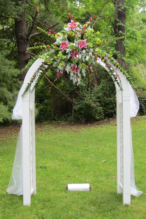 beautiful wedding arch  arbor