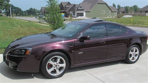 pontiac grand prix gxp car  catalog