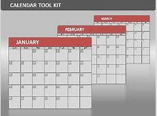 Calendar Tool Kit A PowerPoint Template from