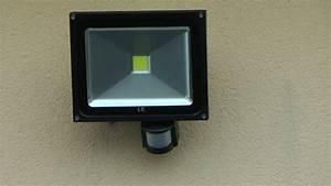 comment installer un projecteur led a detecteur de With comment installer un projecteur exterieur