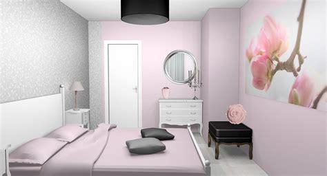 chambre grise et poudré peinture pâle archives designement vôtre