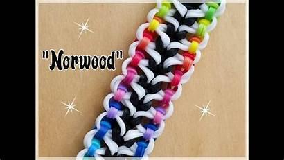 Loom Rainbow Bracelet Bracelets Tutorial Norwood Cool