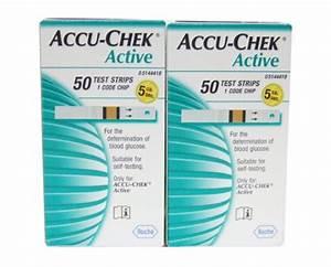 Roche Accu-chek Active Diabetic Test Strips