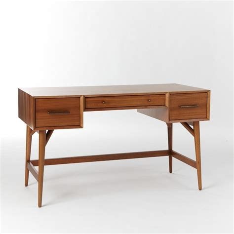 west elm mid century desk review midcentury desk acorn modern desks and hutches by