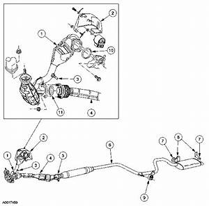 Ford Taurus Exhaust System Diagram