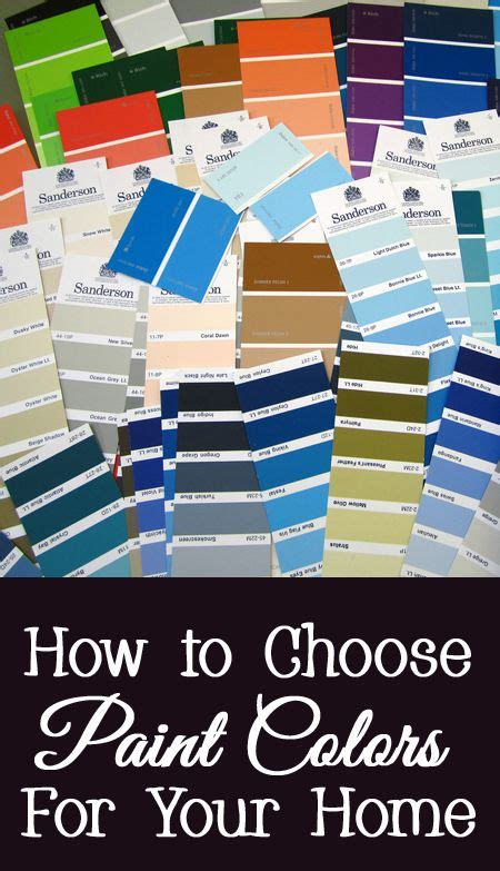 how to choose paint colors for your home house paint