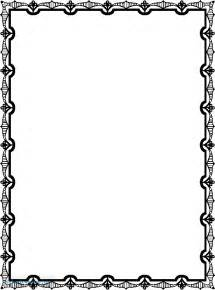 Islamic Border Design Frame