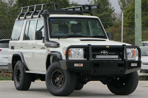 Acquisitioning success in us military trials in 1957 spurred on toyota to launch the model in the 200 series land cruiser station wagon was launched in early 2008 after five years of development. 2016 Toyota Landcruiser VDJ76R Workmate Wagon
