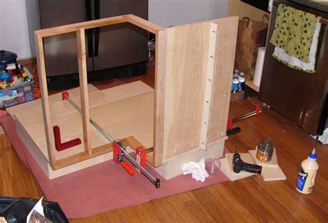 corner lazy susan cabinet installed pete browns remnet