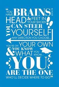 Dr Seuss Gradua... Dropout Success Quotes