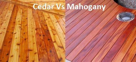 cedar  mahogany decking green world lumber
