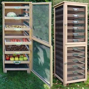 Rangement Fruits Et Légumes : meuble l gumier fruitier 6 tiroirs r colter les fruits ~ Melissatoandfro.com Idées de Décoration