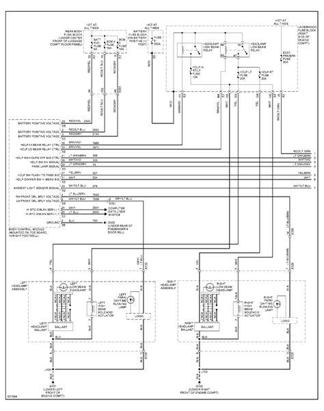 Headlight Wiring Diagram Corvetteforum Chevrolet