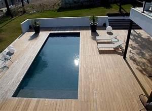 Brise Vue Bois Balcon : terrasse bois exotique brise vue bois patio ~ Edinachiropracticcenter.com Idées de Décoration