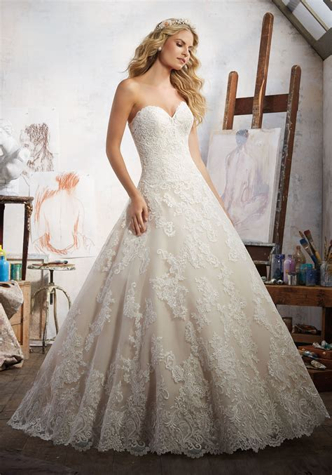 Magdalena Wedding Dress Style 8108 Morilee