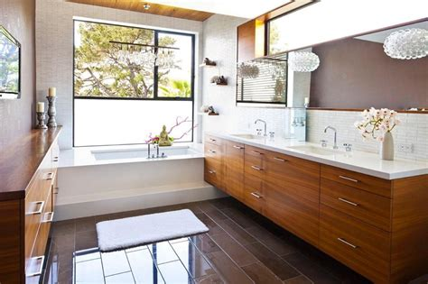 bathroom vanity lighting design ideas mid century modern bathroom ideas for decorating your