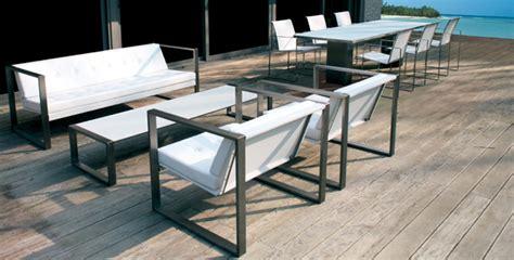 canapé bas design mobilier d 39 extérieur et de jardin design à concarneau