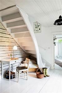 rangement sous escalier 97 idees et solutions creatives With idee deco sous escalier