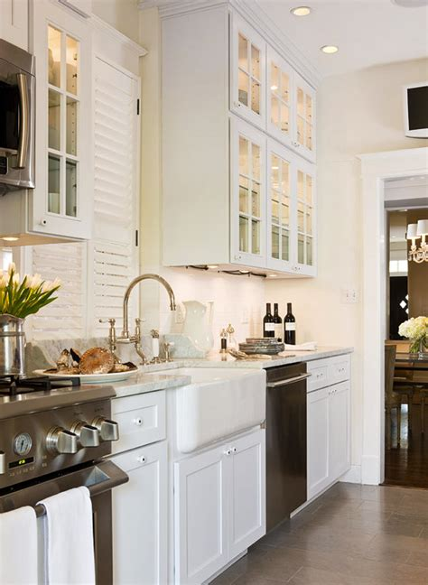 Kitchen Layout Ideas Galley - beautiful efficient small kitchens traditional home
