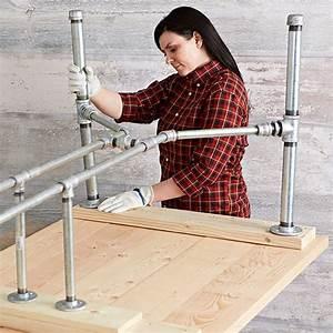 Pipe-Frame Harvest Table