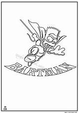 Coloring Simpsons Magiccolorbook Sheets sketch template