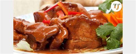 comment cuisiner la joue de porc 28 images recette