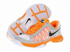 Bright Orange Nike Shoes