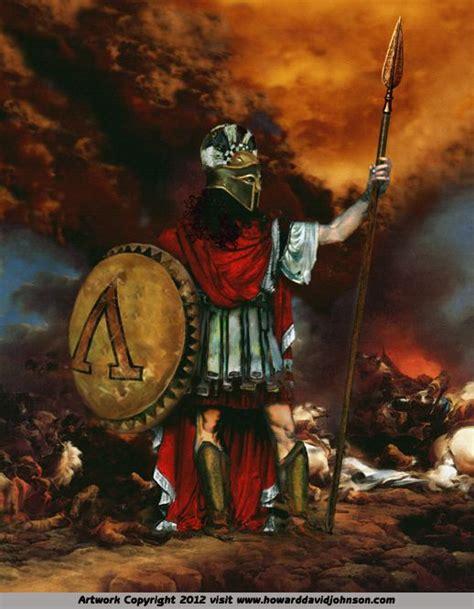ares god  war artist howard david johnson