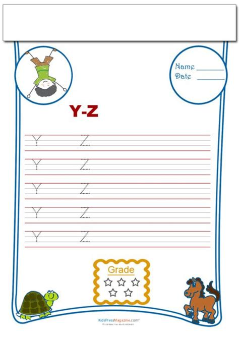 handwriting practice   capital letter  images