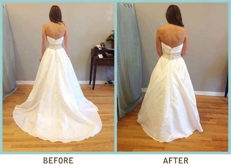 17 Best Wedding Dress Bustle Images On Pinterest