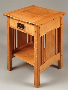 Arts & Crafts Bedside Table - Popular Woodworking Magazine